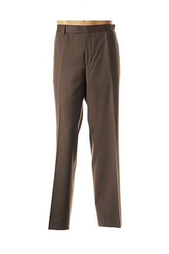 Pantalon chic marron BENVENUTO pour homme