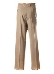 Pantalon chic beige STOZZI ADRIANO pour homme seconde vue