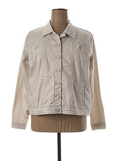 Veste casual gris GRIFFON pour femme