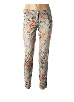 Pantalon casual gris TONI pour femme