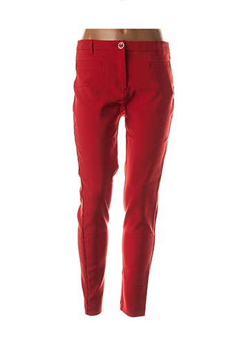 Pantalon casual rouge ANA SOUSA pour femme
