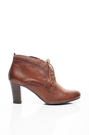 Bottines/Boots marron CAPRICE pour femme