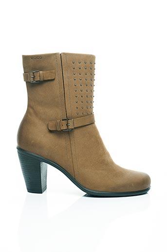 Bottines/Boots marron ECCO pour femme