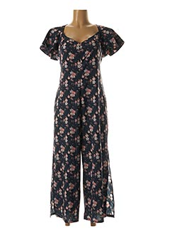 Combi-pantalon bleu LOIS pour femme