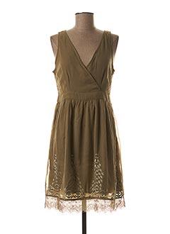Robe mi-longue vert LEE COOPER pour femme