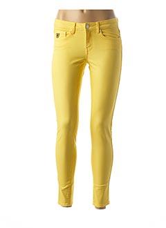 Jeans skinny jaune LOIS pour femme
