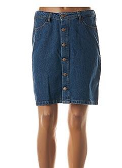 Jupe courte bleu KANOPE pour femme