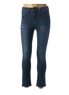 Jeans coupe slim bleu LEE COOPER pour femme