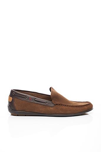 Chaussures bâteau marron TUCS pour homme