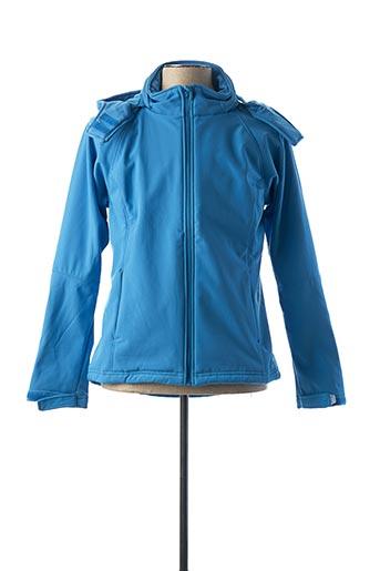 Veste casual bleu B&C pour femme