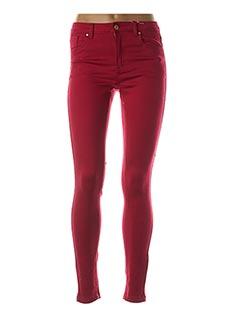 Pantalon casual rouge B.YOUNG pour femme