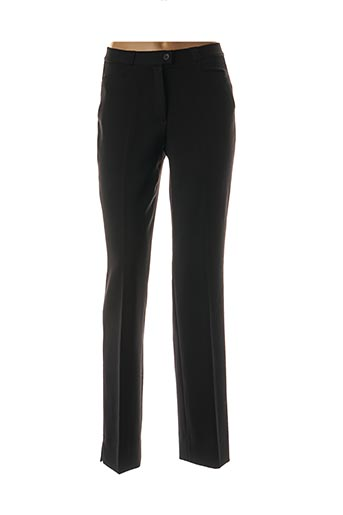 Pantalon casual noir QUATTRO pour femme