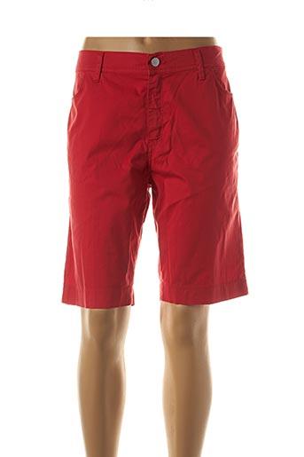Bermuda rouge COWEST pour femme