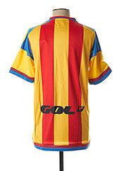 T-shirt manches courtes jaune ADIDAS pour homme seconde vue