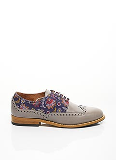Derbies gris EQUAL FOR ALL pour femme