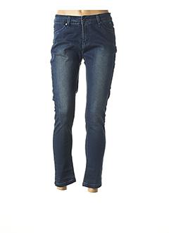 Jeans coupe slim bleu ESPRIT DE LA MER pour femme