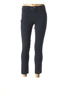 Pantalon 7/8 bleu LOLA ESPELETA pour femme