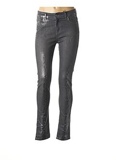 Pantalon casual gris VOODOO pour femme