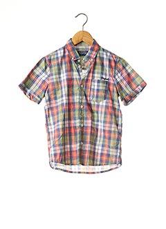 Chemise manches courtes vert MAYORAL pour garçon