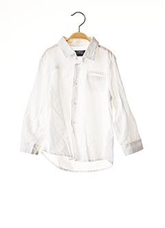 Chemise manches longues blanc MAYORAL pour garçon