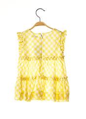 Robe mi-longue jaune MAYORAL pour fille seconde vue