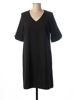 Robe courte noir FELINO pour femme