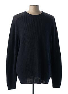 Pull col rond gris HELLY HANSEN pour homme