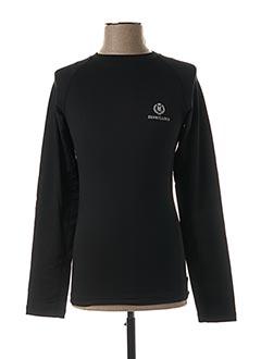 T-shirt manches longues noir HENRI LLOYD pour homme