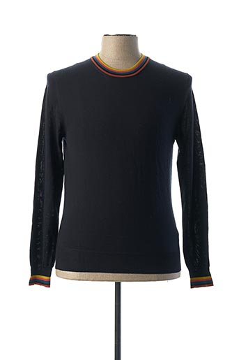 Pull col rond bleu PAUL SMITH pour homme