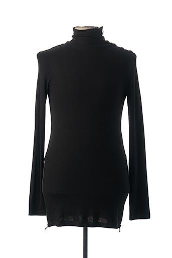 T-shirt manches longues noir PIERRE BALMAIN pour homme
