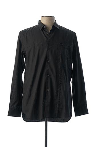 Chemise manches longues noir COMME DES GARCONS pour homme