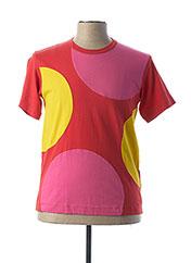 T-shirt manches courtes rouge COMME DES GARCONS pour homme seconde vue