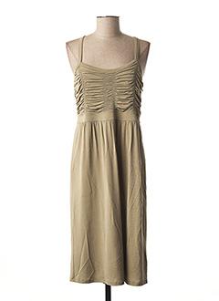 Robe mi-longue vert BURBERRY pour femme