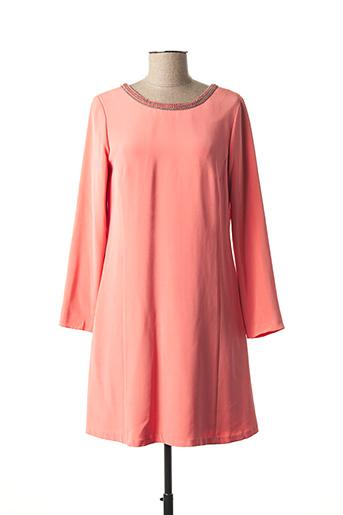 Robe courte rose PAUL & JOE pour femme