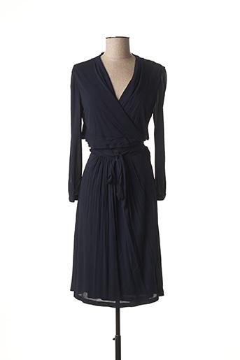 Robe mi-longue bleu BURBERRY pour femme