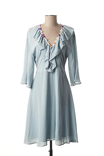 Robe mi-longue bleu PAUL & JOE pour femme