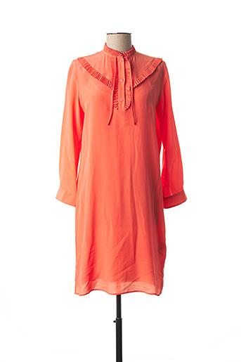 Robe mi-longue orange PAUL SMITH pour femme