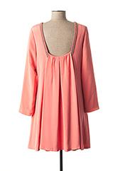 Robe courte rose PAUL & JOE pour femme seconde vue