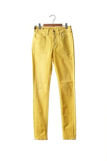 Jeans skinny jaune ATELIER NOTIFY pour femme