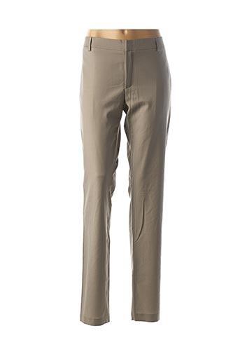 Pantalon chic marron PAUL & JOE pour femme