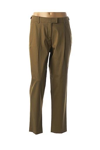 Pantalon chic vert BURBERRY pour femme