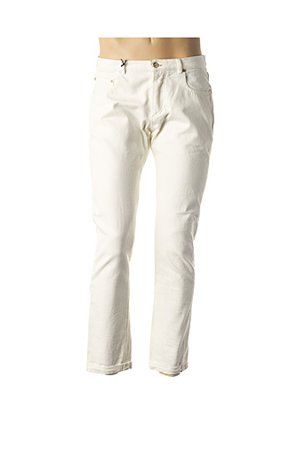 Jeans coupe slim blanc PAUL SMITH pour homme