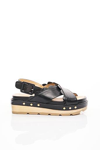 Sandales/Nu pieds noir PAUL & JOE pour femme