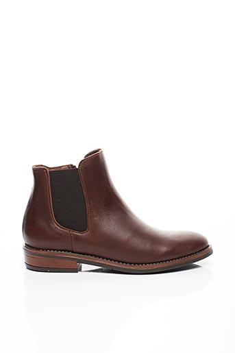Bottines/Boots marron BELLAMY pour fille