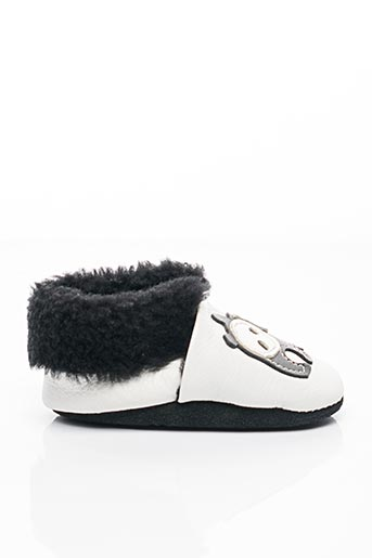 Chaussons/Pantoufles blanc BELLAMY pour garçon
