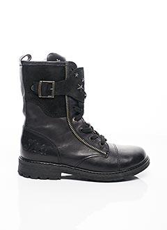 Bottines/Boots noir IKKS JUNIOR pour fille