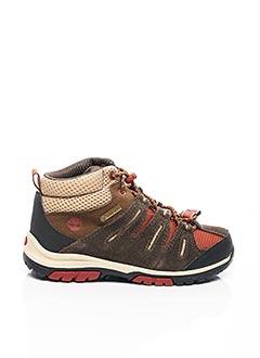 Bottines/Boots marron TIMBERLAND pour garçon