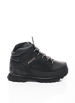 Bottines/Boots noir TIMBERLAND pour garçon