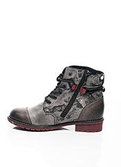 Bottines/Boots gris RIEKER pour fille seconde vue