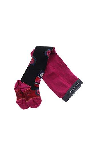 Collants rose BERTHE AUX GRANDS PIEDS pour fille